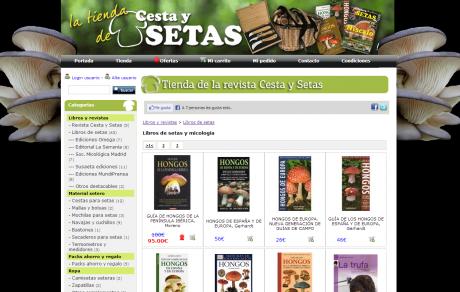 Tienda de CestaySetas.com